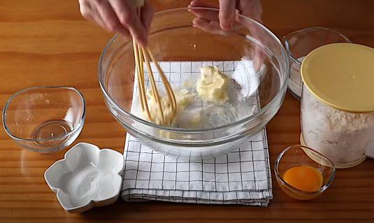 Mezcla los primeros ingredientes