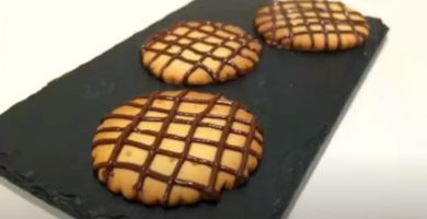 Galletas de chocolate listas