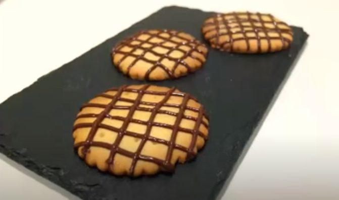 Galletas de chocolate listas