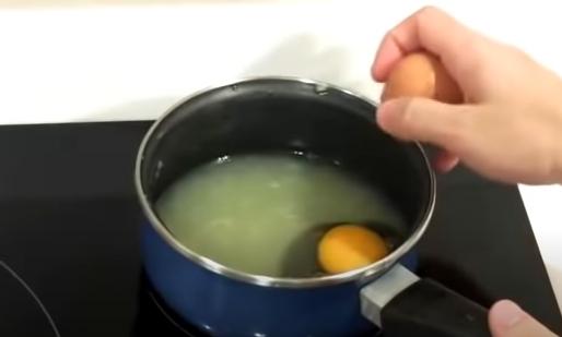 Preparando la crema a fuego medio