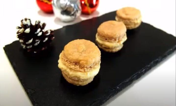 Macarons de turrón listos